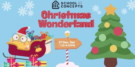 SoC Christmas Wonderland at Singpost/Westgate tickets