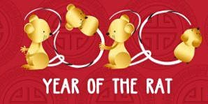 The Chinese Year of The Metal Rat 2020