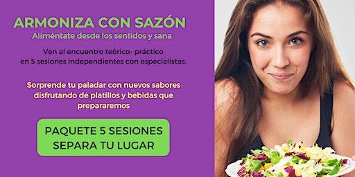 ARMONIZA CON SAZÓN - Paquete 5 sesiones