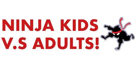 Ninja Warrior Competition - 19th January 2020 - KIDS VS. ADULTS! tickets