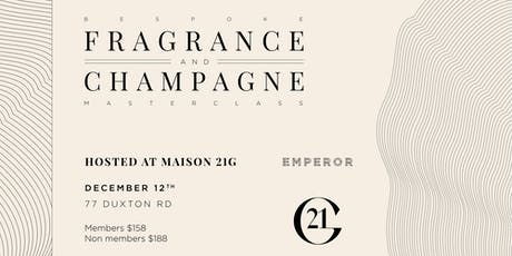 Bespoke Fragrance & Champagne Masterclass tickets