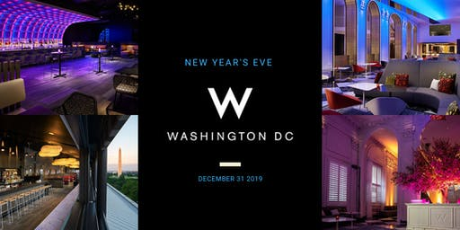 POV & LIVING ROOM NEW YEAR'S EVE AT W HOTEL DC   NYE 2020