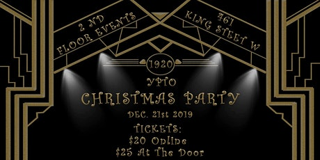 YPTO Annual Christmas Party tickets