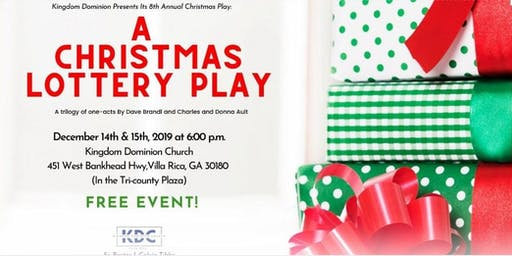 Christmas Play: A Christmas Lottery