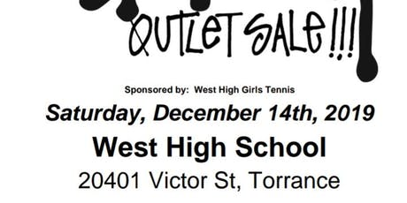 Stussy Shopping Outlet by West Torrance High School's Girl's Tennis tickets