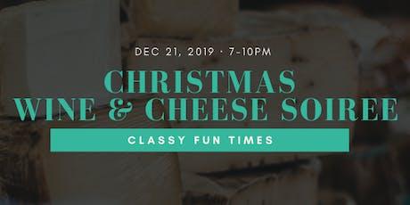 Christmas Wine  & Cheese  Soirée tickets