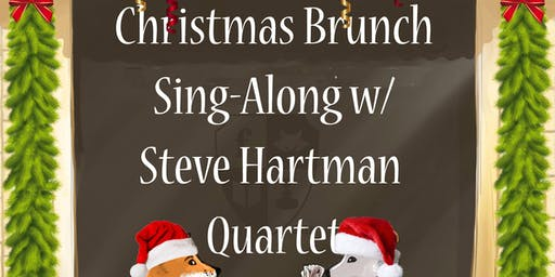Christmas Brunch Sing-Along with Steve Hartman Quartet