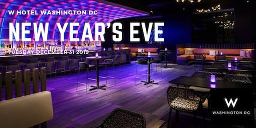 New Year's Eve at Iconic W Hotel Washington DC
