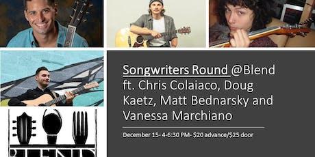 Songwriters Round tickets