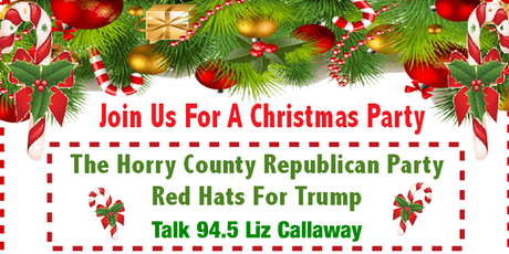 Horry County Republican Party Christmas 2019 tickets