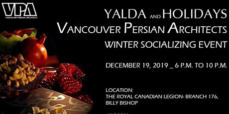 VPA Yalda & Holidays - Winter Socializing Event tickets