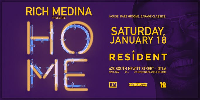 Rich Medina Presents HOME