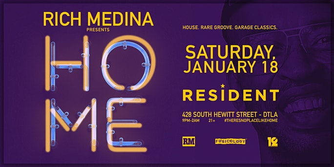 Rich Medina Presents HOME