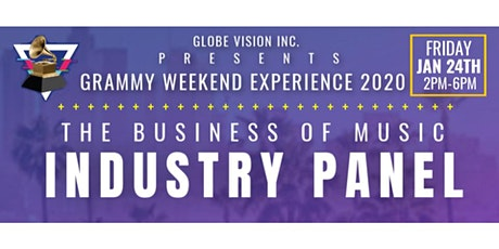 GlobeVision: Music Industry Panel (Grammy Weekend Edition 2020) tickets