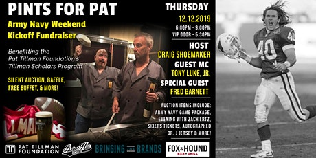 Inaugural Pints for Pat Event: Philadelphia - Army/Navy Week tickets