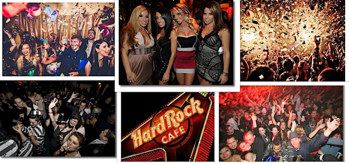 New Year's Eve Party 2022 - Rock 'Til The Drop at Hard Rock Cafe Chicago image