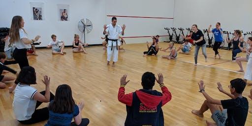 Basic Self-Defence Class (12-16yrs)