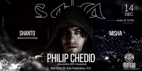 Philip Chedid (AKUMANDRA), Shanto(Sunday Sanctuary) and Misha tickets