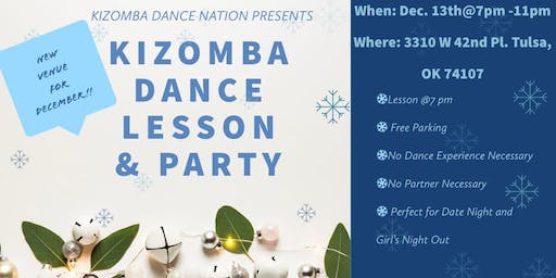 HOW TO DANCE KIZOMBA: DANCE LESSON & PARTY