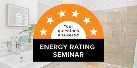 FREE Energy Rating Seminar tickets