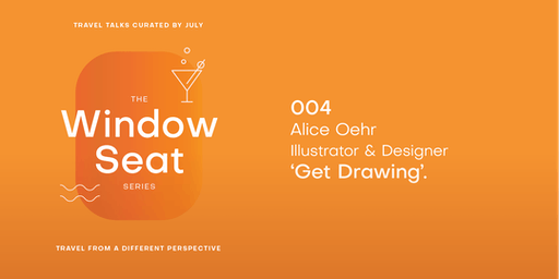 July: The Window Seat - Get Drawing with Alice Oehr