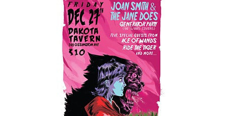 "Joan Smith and The Jane Does ""GeneratorParty"" tickets"