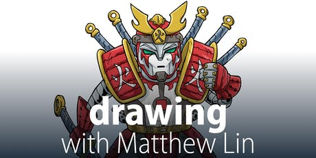 Drawing with Matthew Lin - Summer school holidays tickets