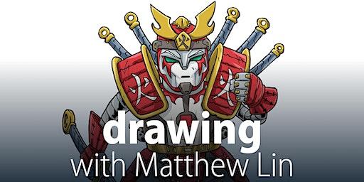 Drawing with Matthew Lin - Summer school holidays