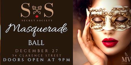 Secret Society's Masquerade Ball tickets