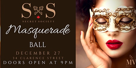Secret Society's Masquerade Ball tickets