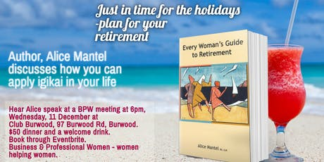 Just In Time for the Holidays, meet author, Alice Mantel tickets
