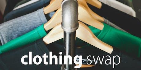 Clothing swap - Summer school holidays tickets