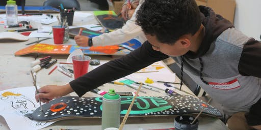 Hastings - Skateboard workshop with Decks for Change