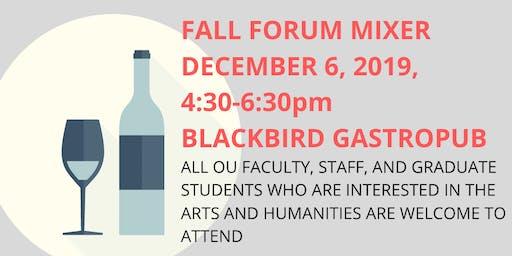 OU Arts & Humanities Forum Social Mixer
