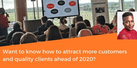 Create your brand and marketing plan for 2020 tickets