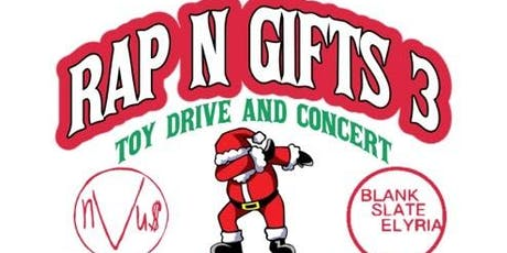 Rap N' Gifts 3: Toy Drive and Concert tickets