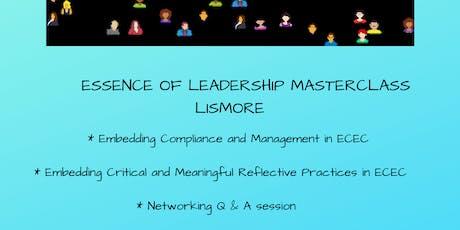 Essence of Leadership Masterclass Lismore tickets