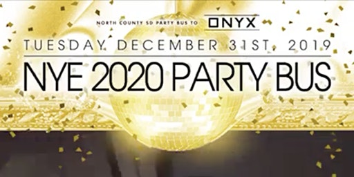 North County SD New Years Party Bus(Tuesday)
