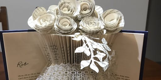 Learn the beautiful craft of book folding!