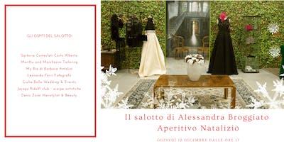 Il salotto natalizio di Alessandra Broggiato