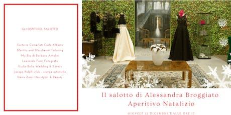 Il salotto natalizio di Alessandra Broggiato biglietti