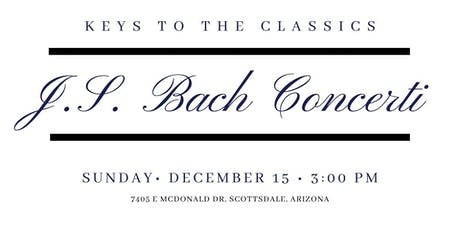 Keys to the Classics - J.S. Bach Concerti tickets