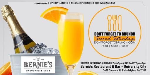 Don't Forget To Brunch (Second Saturdays)