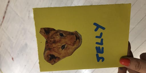 Pets zine making workshop ~ FREE ~ with Elizabeth Lovatt