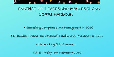 Essence of Leadership Masterclass Coffs Harbour tickets