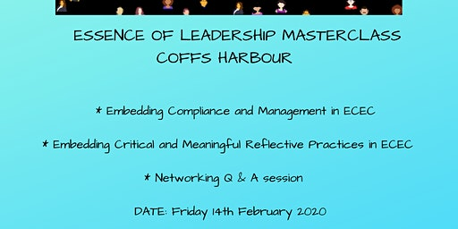 Essence of Leadership Masterclass Coffs Harbour