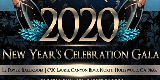 New Year's Eve 2020 Exclusive Gala (Red Carpet-Full Dinner-Open Bar)