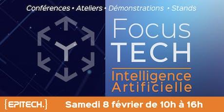 FocusTECH - Intelligence Artificielle billets