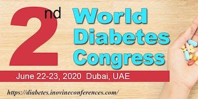 2nd World Diabetes congress 2020