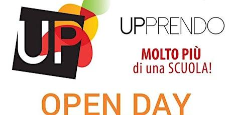 Open Day UPPRENDO 12 Gennaio 2020 biglietti
